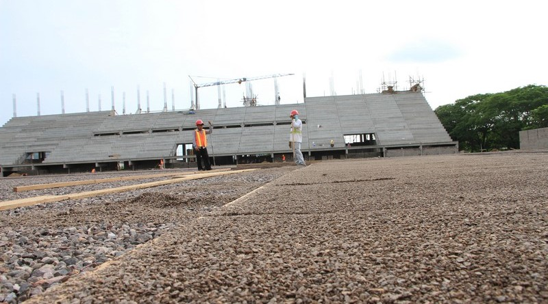 Construccion Estadio Choluteca