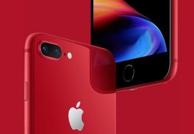 Apple lanzó  al mercado su iPhone 8 y 8 Plus en rojo