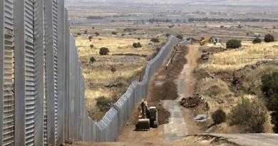 Inició construcción de muro fronterizo entre EU y México