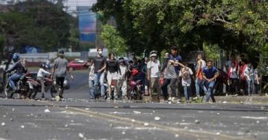 Unas 10 personas muertas en Nicaragua, tras protestas contra reformas a Seguridad Social