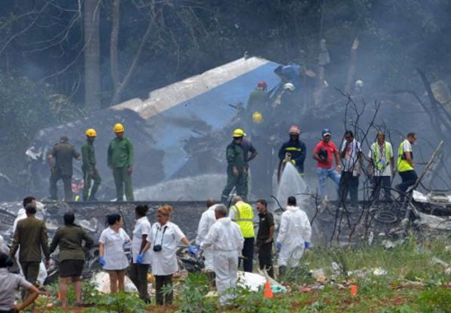 Accidente Avión Cuba