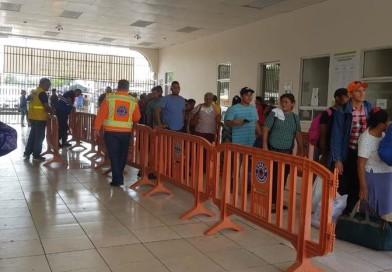Empiezan a llegar primeros  viajeros salvadoreños  por Feria Agostina