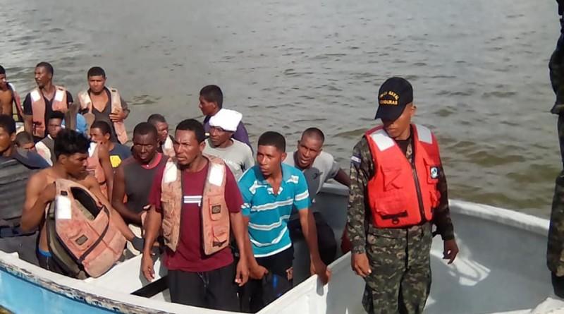 Tripulantes rescatados2