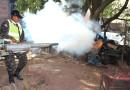 Arranca campaña de Fumigación en la Capital