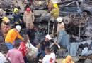 Consternación en salida al sur de Tegucigalpa, luego de explosión de camión cisterna