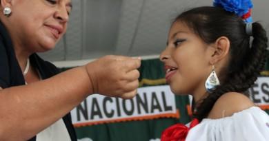 Salud inicia segunda ronda de campaña de desparasitación en escuelas a nivel nacional