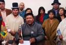 Sergio Choque asume liderazgo de MAS en Bolivia