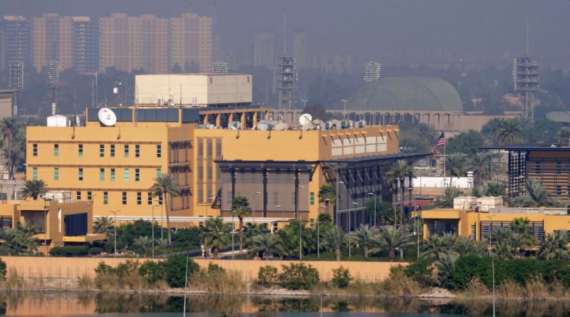 Embajada de EE UU en Bagdad