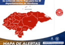 Se extiende Alerta Roja para los 18 departamentos de Honduras por COVID-19